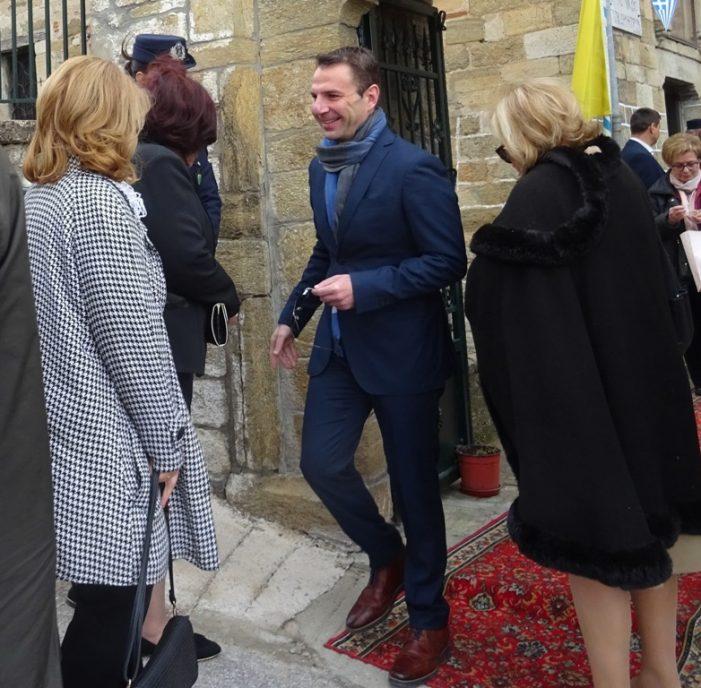 Επίσκεψη του Γιάννη Κορεντσίδη στην Κλεισούρα Καστοριάς