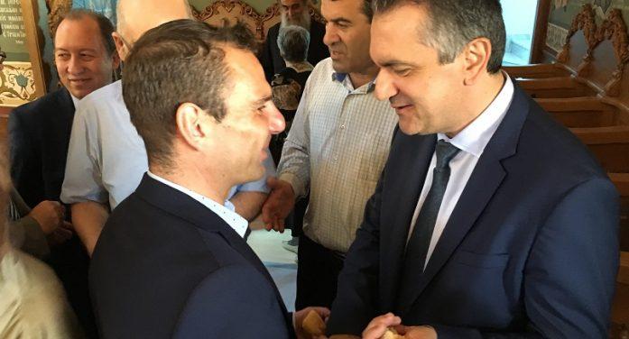 Συναντήσεις εργασίας του Γιάννη Κορεντσίδη με Δήμαρχο και Αντιπεριφερειάρχη Καστοριάς