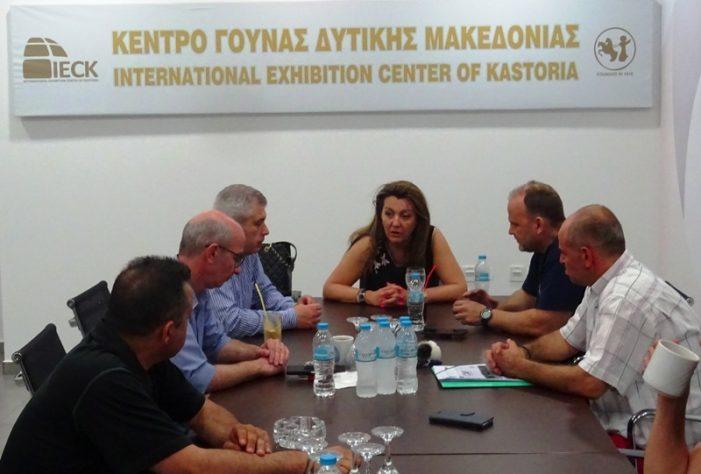 Συνεχίζονται οι περιοδείες και οι συναντήσεις της Μαρίας Αντωνίου
