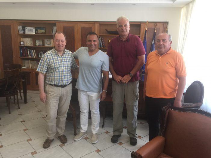 Τον Αντιπεριφερειάρχη Καστοριάς επισκέφτηκε ο Pavlo Simtikidis