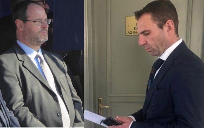 Εθιμοτυπική συνάντηση του Γ. Κορεντσίδη με τον Εισαγγελέα Πρωτοδικών Καστοριάς