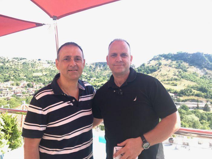 Συνάντηση του Προέδρου του Συνδέσμου Γουνοποιών Καστοριάς, Απόστολου Τσούκα, με την Παγκόσμια Διακοινοβουλευτική Ένωση