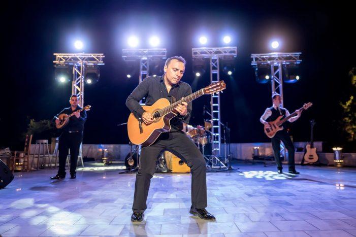 Ο Παύλος Σιμτικίδης (Pavlo) σε συναυλία στην Καστοριά 27/07