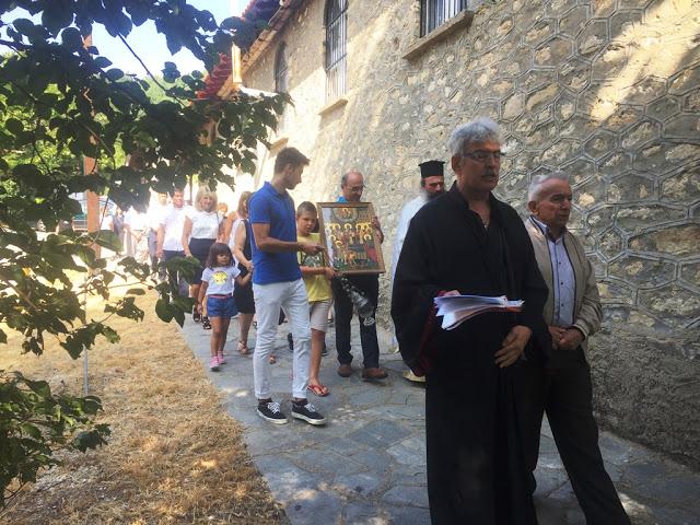 Ο εορτασμός του Δεκαπενταύγουστου στο Καστανόφυτο