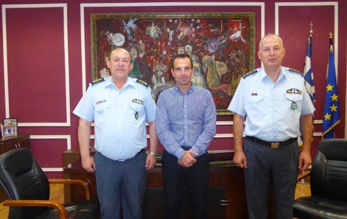 Επίσκεψη του Γενικού Περιφερειακού Αστυνομικού Διευθυντή  Δυτικής Μακεδονίας στον Δήμαρχο Καστοριάς Γιάννη Κορεντσίδη