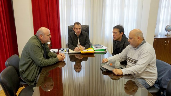 Συνάντηση του δημάρχου Καστοριάς, Γ. Κορεντσίδη, με εκπροσώπους των εργαζομένων του δήμου
