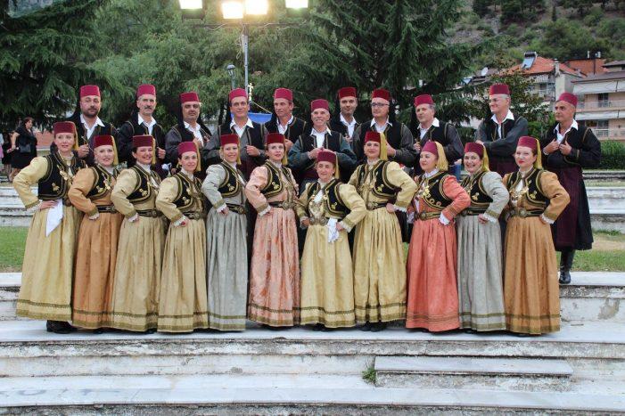 Μακεδονικοί Χοροί στη Ζάκυνθο από την «Μύηση»