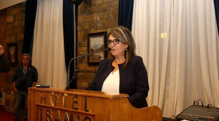 Ομιλία Ολυμπίας Τελιγιορίδου στην Καστοριά
