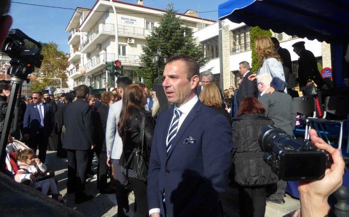 Ευχαριστήριο Δημάρχου Καστοριάς για εκδηλώσεις Απελευθέρωσης