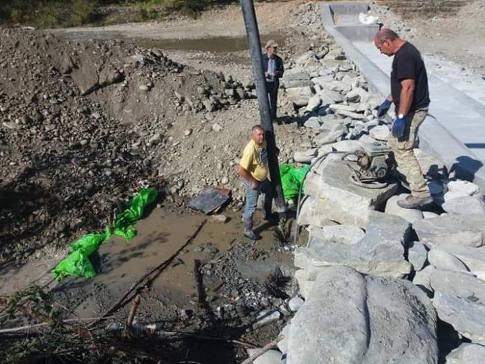 Ολοκληρώθηκαν οι εργασίες Αντιπλημμυρικής Προστασίας και οι Διευθετήσεις στη νέα Γέφυρα Νεστορίου
