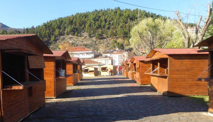 Ξεκίνησαν οι εργασίες για την Χριστουγεννιάτικη αγορά στην Καστοριά