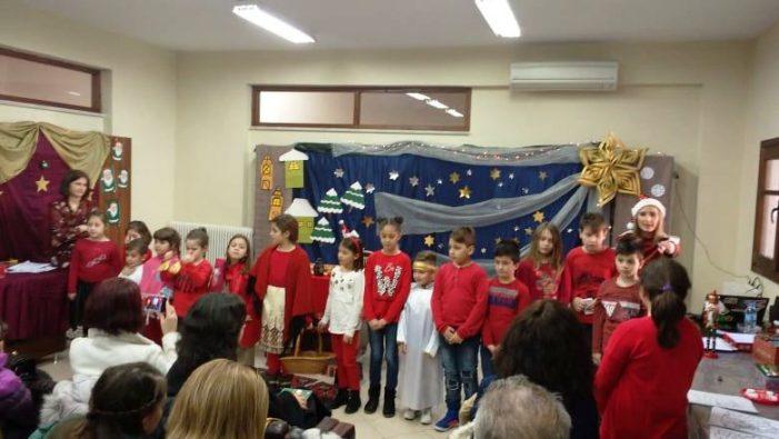 Η Χριστουγεννιάτικη γιορτή του ΚΔΑΠ Δήμου Καστοριάς για τα παιδιά