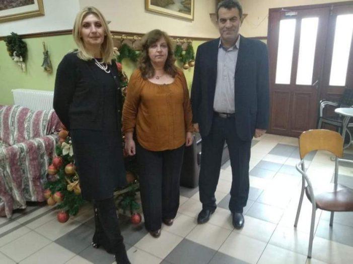 Σε Γηροκομείο και ΚΑΠΗ ο Αντιπεριφερειάρχης Καστοριάς για Ευχές
