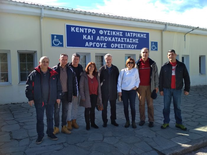 Επίσκεψη Ν.Τ ΑΔΕΔΥ στο ΚΕΦΙΑΠ Άργους Ορεστικού