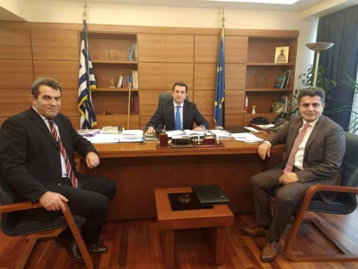 Σειρά επαφών του Αντιπεριφερειάρχη Καστοριάς στην Αθήνα για προώθηση θεμάτων της ΠΕ Καστοριάς