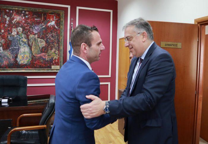 Επίσκεψη του Υπουργού Εσωτερικών κ. Τάκη Θεοδωρικάκου στον Δήμο Καστοριάς