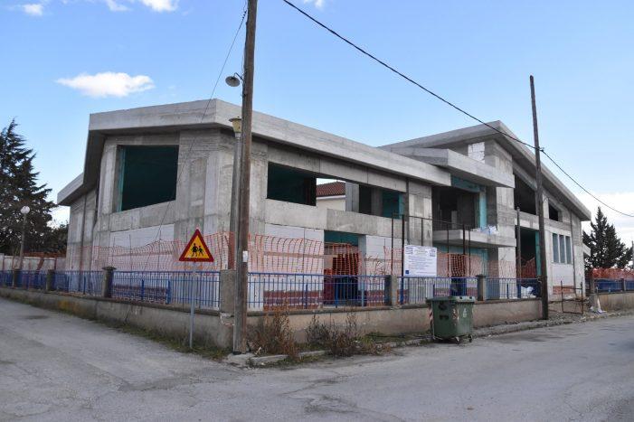 Δήμος Άργους Ορεστικού: Τον Απρίλιο του 2021 η ολοκλήρωση του έργου αίθουσας πολλαπλών χρήσεων του 4ου Δημοτικού Σχολείου