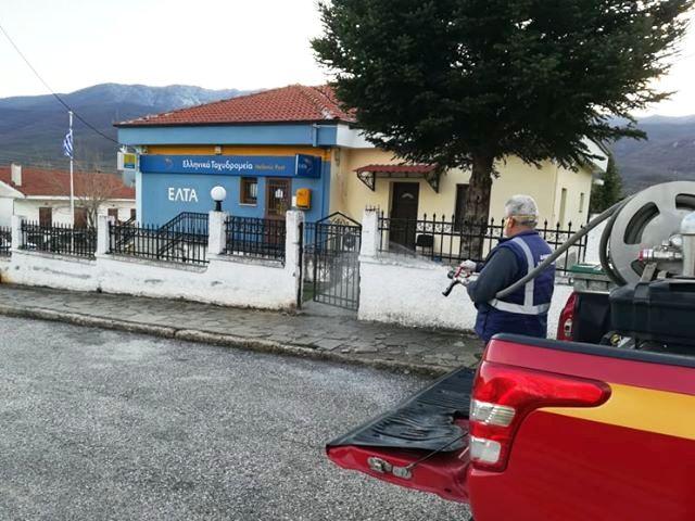 Δήμος Καστοριάς: Απολυμάνσεις στα χωριά των Κορεστείων