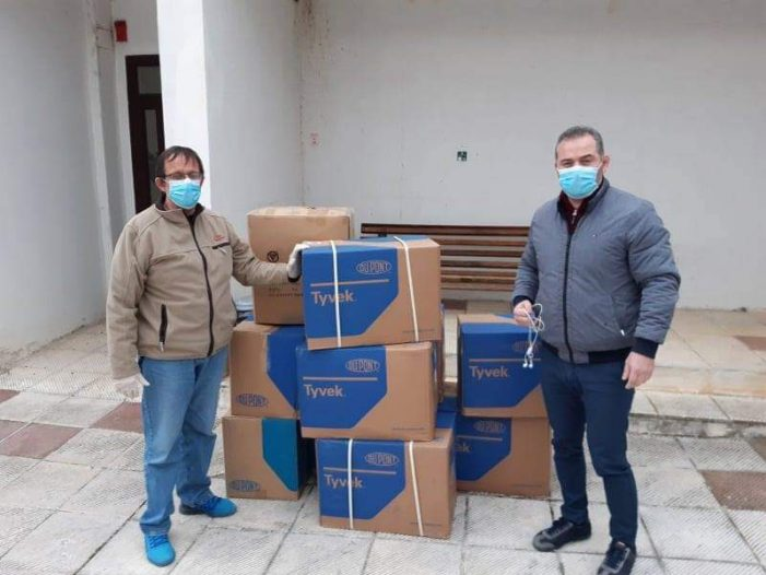 Η Π.Ε. Καστοριάς Συνεχίζει να Στηρίζει τη Λειτουργία του Νοσοκομείου