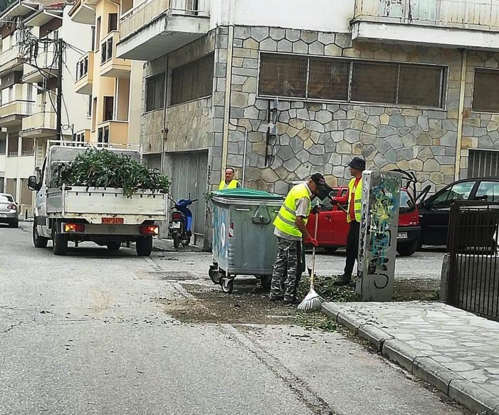 Συνεχείς επιχειρήσεις καθαριότητας από το Δήμο Καστοριάς