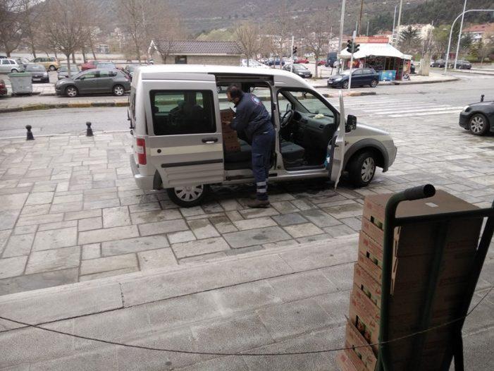 Η ΠΕ Καστοριάς Παρέδωσε Χυμούς στο Νοσοκομείο χάρη ευγενικής χορηγίας