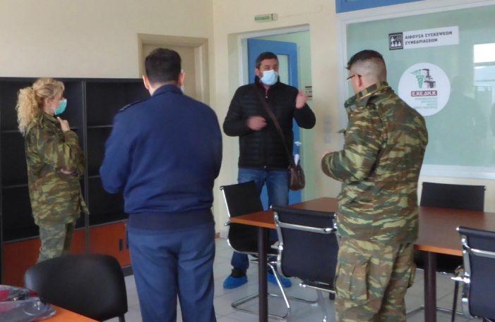 Ενισχύονται με 8μελές Κλιμάκιο του Ελληνικού Στρατού οι υγειονομικές δομές του Δήμου Καστοριάς στην Μεσοποταμία