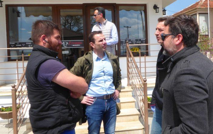 Επίσκεψη του Δημάρχου Καστοριάς Γιάννη Κορεντσίδη στη Δ.Ε. Μεσοποταμίας