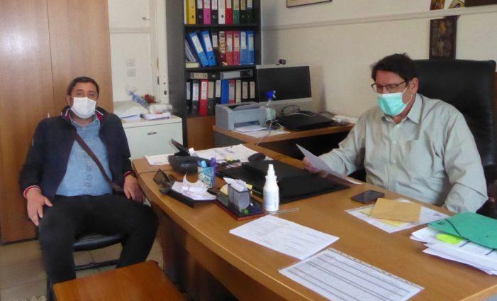 Παράδοση Υγειονομικού Υλικού στο Νοσοκομείο Καστοριάς