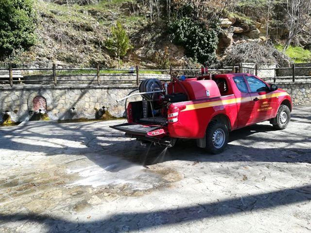 Συνεχίζονται οι απολυμάνσεις από τον Δήμο Καστοριάς