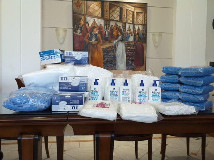 Δωρεά  Σημαντικού Υγειονομικού Υλικού στην Π.Ε. Καστοριάς από τοπική επιχείρηση