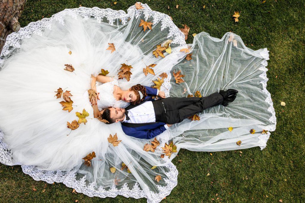 Φωτογράφος γάμου με drone