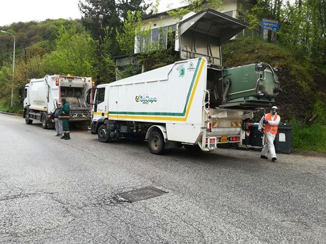Πλύσεις και απολυμάνεις κάδων από το Δήμο Καστοριάς με στόχο τη διασφάλιση της δημόσιας υγείας