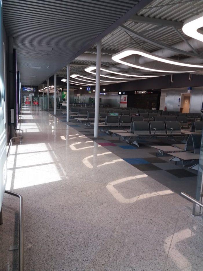 Εικόνες από το Αεροδρόμιο Ελευθέριος Βενιζέλος 12/05