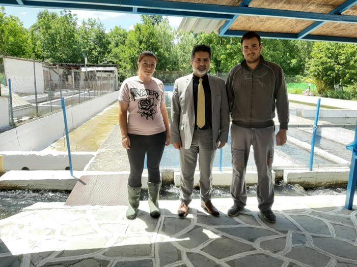 Επισκέψεις του Ζ. Τζηκαλάγια στηρίζοντας τον πρωτογενή τομέα