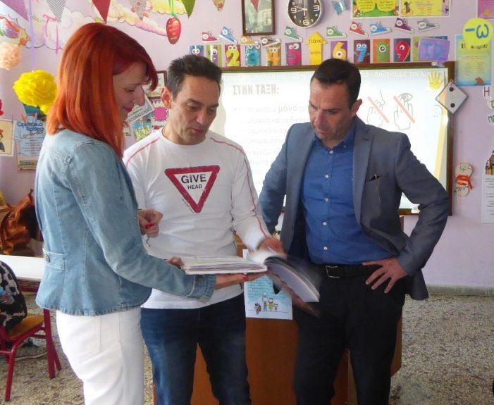 Η ευχάριστη έκπληξη που βίωσε ο Δήμαρχος Καστοριάς Γιάννης Κορεντσίδης στην επίσκεψη του στο 5ο Δημοτικό Σχολείο Καστοριάς