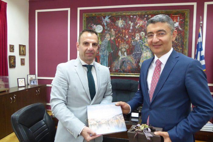 Τον Πρέσβη του Αζερμπαϊτζάν, Anar Huseynov υποδέχθηκε ο Δήμαρχος Καστοριάς, Γιάννης Κορεντσίδης