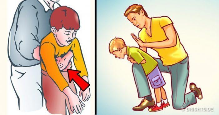 Οι οδηγίες πρώτων βοηθειών σε περίπτωση που πνίγεται ένα παιδί
