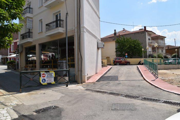 Άργος Ορεστικό: Δόθηκε στην κυκλοφορία ο δρόμος στην αρχή του πεζοδρόμου