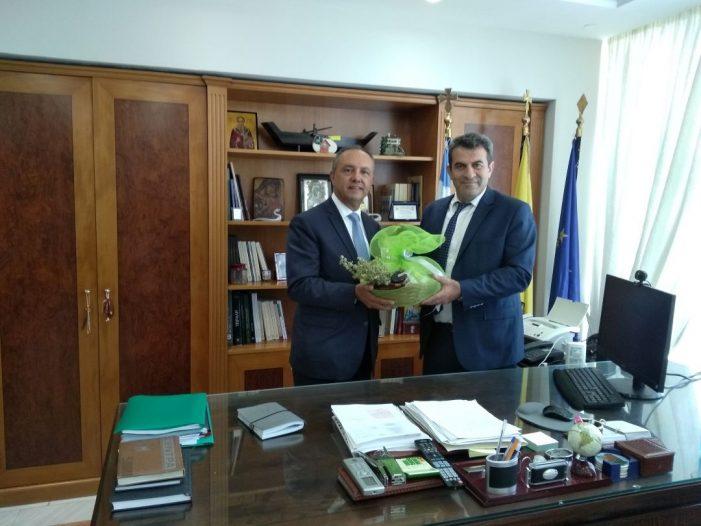 Επίσκεψη του Υφυπουργού Εσωτερικών Θεόδωρου Καράογλου στην Περιφερειακή Ενότητα Καστοριάς