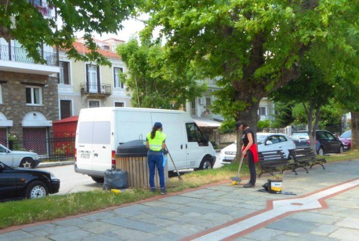 Εκτεταμένες επιχειρήσεις καθαρισμού από τις αρμόδιες υπηρεσίες του Δήμου Καστοριά