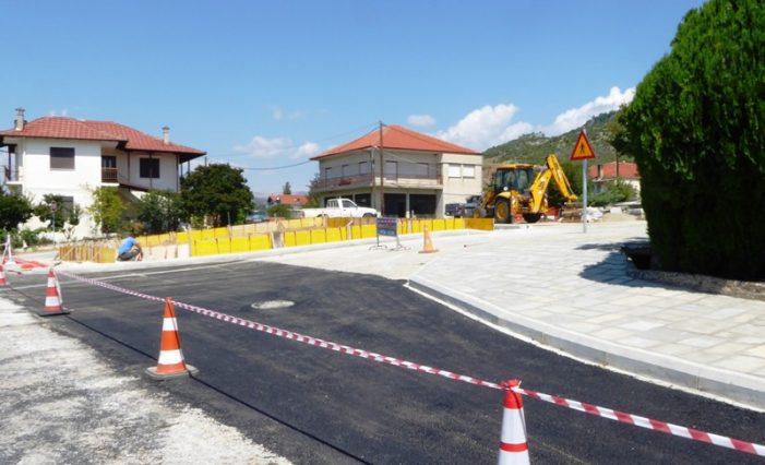 Ξεκίνησαν από το Δήμο Καστοριάς οι εργασίες διαμόρφωσης της εισόδου στη Λεύκη