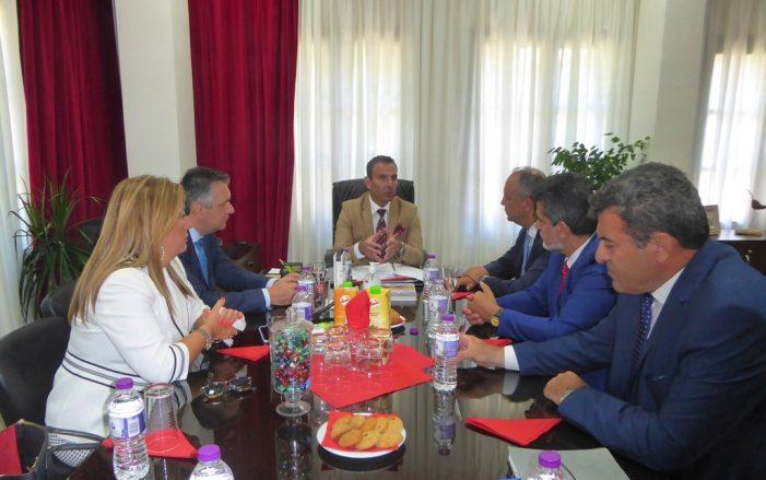 Συνάντηση εργασίας του Δημάρχου Καστοριάς, Γιάννη Κορεντσίδη με τον Υφυπουργό Εσωτερικών, κ. Θεόδωρο Καράογλου
