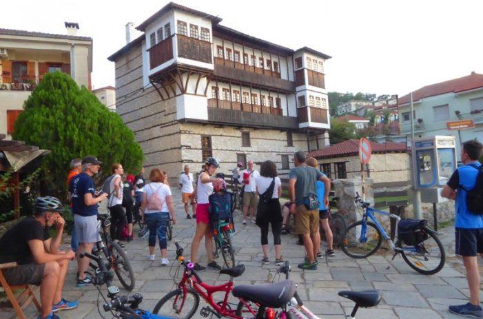 Με μεγάλο ενδιαφέρον και επιτυχία η ποδηλατική ξενάγηση και ενημέρωση του Δήμου Καστοριάς