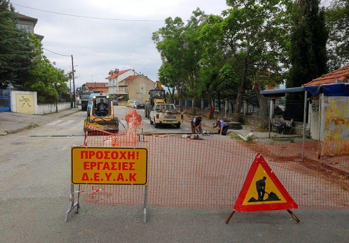 Παρεμβάσεις ΔΕΥΑΚ στον Δήμο Καστοριάς