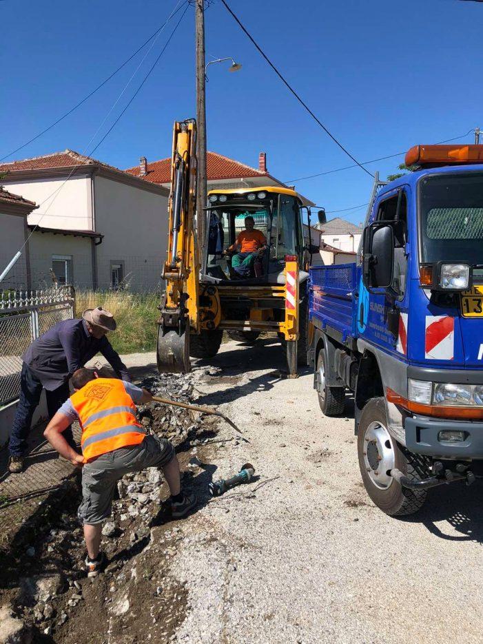 ΔΕΥΑ Καστοριάς: Ολοκλήρωση της κατασκευής δικτύου ομβρίων υδάτων στη Μεσοποταμία