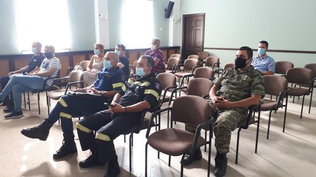 Έκτακτη συνεδρίαση πραγματοποίησε το Συντονιστικό Τοπικό Όργανο Πολιτικής Προστασίας του Δήμου Άργους Ορεστικού