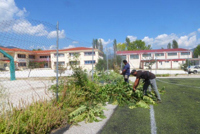 Eργασίες από το Δήμο Καστοριάς για καθημερινότητα και άνοιγμα σχολείων