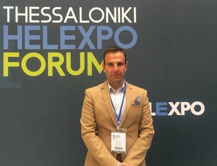 """Στις εργασίες του """"Thessaloniki Helexpo Forum"""" ο Δήμαρχος Καστοριάς, Γιάννης Κορεντσίδης"""