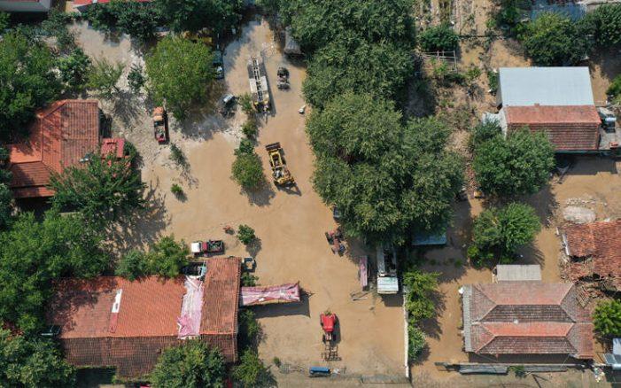 Κακοκαιρία Ιανός:  Έπεσαν 1,5 εκατ. τόνοι νερού στην Καρδίτσα