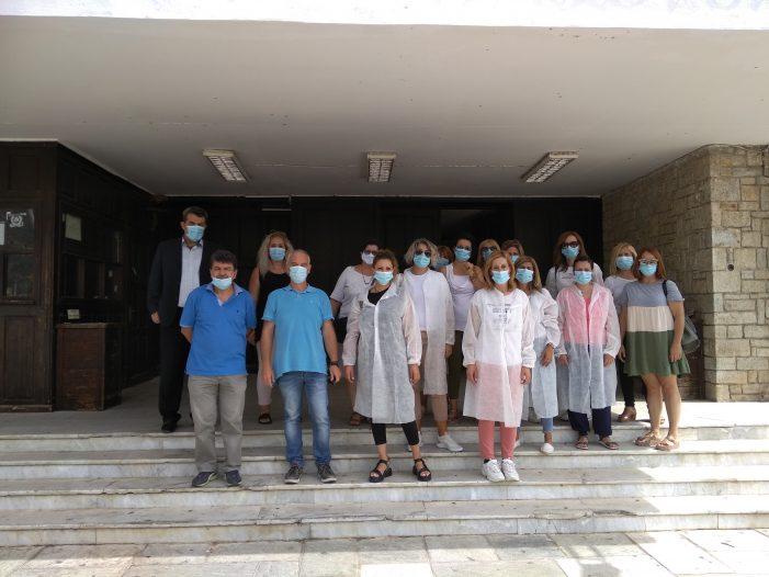 Ολοκληρώθηκε η διεξαγωγή αιμοληψιών των συγγενών πεσόντων του ΄40 στην Π.Ε. Καστοριάς